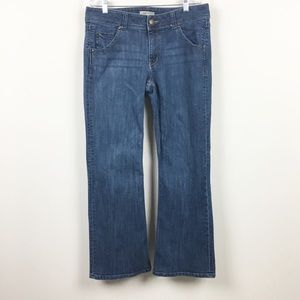 Cabi Bootcut Flap Pocket Jeans Style 638R Size 12